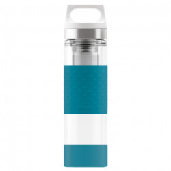 SIGG Thermo Flask Hot & Cold Glass Aqua Bottle 0.4 L