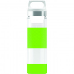 SIGG Thermo Flask Hot & Cold Glass Green Bottle 0.4 L