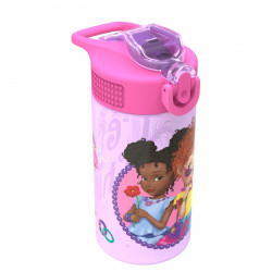 Zak Designs Fancy Nancy 16 oz PP Park Straw Bottle