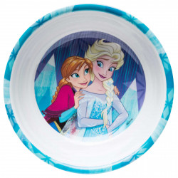 Zak Designs Frozen Girl 5.5 Inch Melamine Bowl With Rim