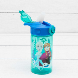 Zak Designs Frozen Girl 16 oz PP Park Straw Bottle