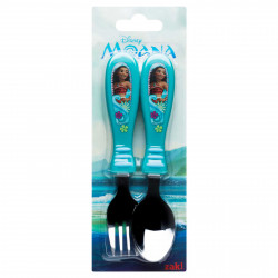 Zak Designs Moana Easy Grip Flatware 2 pcs