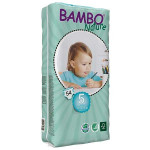 Bambo Nature Size 5 Big Package, 2 Diaper Packs + 2 Wipes