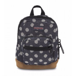 JanSport RIGHT POUCH BackPack, Navy Dot Cosmetic Pouch, 14 cm