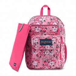 JanSport Digital Student Laptop Backpack, Prisma Pink Pretty Posey