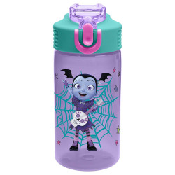 Zak Designs Vampirina 16oz PP Park Straw Bottle