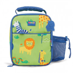 Penny Bento Cooler Bag with Pocket - Wild Life