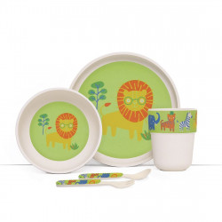 Penny Bamboo Meal Set with Cutlery - Wild Thing