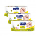 Septona Baby Wipes with Organic Olive Oil Offer - Buy 2 get 1 Free