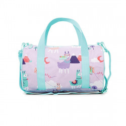 Penny Duffle Bag Coated - Loopy Llama