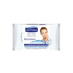 Septona Cosmetics Wipes, Micellaire , 20 pieces