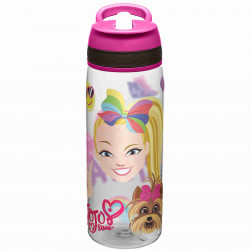 Zak Designs Jojo Siwa Pink 25oz Tritan Union Straw Bottle
