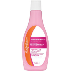 Sally Hansen Nail Polish Remover, Strengthening, 236 ml