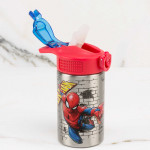 Zak Designs SpiderMan Classic 15.5oz SS Palouse Bottle