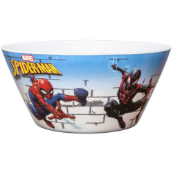 Zak Designs SpiderMan Classic 5.9in Individual Bowl
