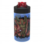 Zak Designs Marvel Universe 16 OZ pp Park Straw Bottle