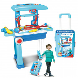 Kids Toy Foldable Trolley Suitcase, Doctor Set
