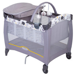Graco Contour Electra Travel Cot, ABC