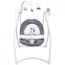 GRACO Lovin Hug Swing W/Plug - Adorable