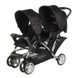 GRACO Stadium Duo Stroller Black Grey