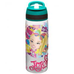 Zak JoJo Siwa 25oz Plastic Water Bottle Blue
