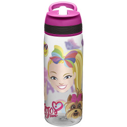 Zak Jojo Siwa Pink 25oz Tritan Union Straw Bottle