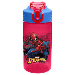 Zak Spider Man Classic 16oz Park Straw Bottle