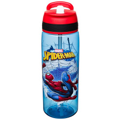 Zak Designs Marvel Comics Water Bottle 25oz, Spider-Man