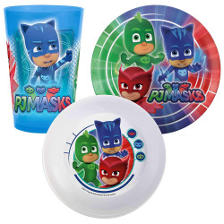 Zak Disney Junior PJ Masks Mealtime Set
