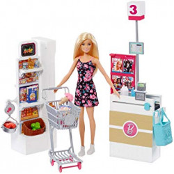 Barbie Supermarket Set, Multi-Colour