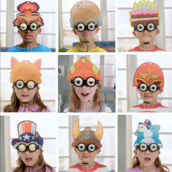 Blonkers Dino Interchangeable Header Spectacles with Interactive Eyes