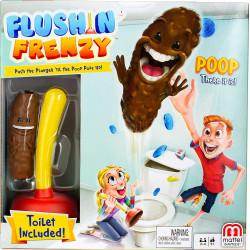 Mattel Games  Flushing Frenzy Game, Multi-Colour