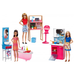Barbie Room & Doll Assortment