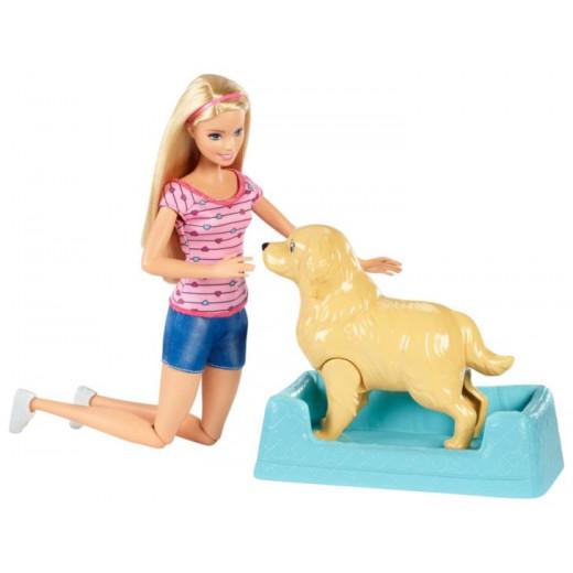 Barbie® Newborn Pups Doll & Pets