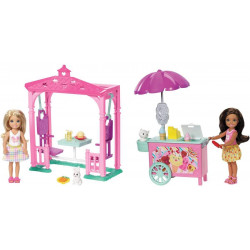 Barbie Club Chelsea Ice Cream Cart or Picnic Doll and Playset, Assortment