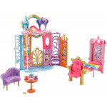 Barbie FANTASY Fairytale Portable Castle Dreamtopia, Colourful Playset, Accessories, House, Multi
