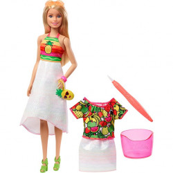 Barbie® Crayola® Rainbow Fruit Surprise Doll & Fashions
