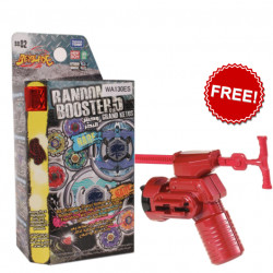 Takaratomy Beyblades Battle Top - Volume 5 Random Booster + Free Shooter