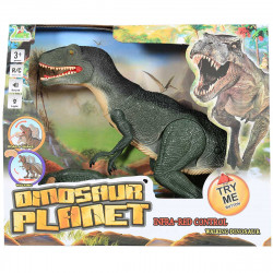 Dinosaur Planet Remote Controlled Operated Velcociraptor T-Rex Figure