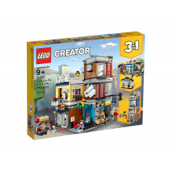 LEGO Creator: Town House & Petshop Café