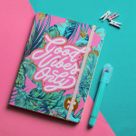 Good Vibes Summer Notebook A5 Size