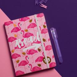 Flamingo Summer Notebook A5 Size