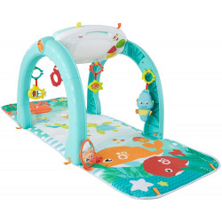 Fisher-Price 4-in-1 Ocean Activity Center with Different Ways to Play