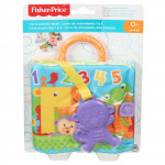 Fisher-Price 1 to 5 Soft Activity Book with Monkey Teether