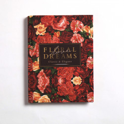Floral Dreams Notebook Hardcover A6 Size
