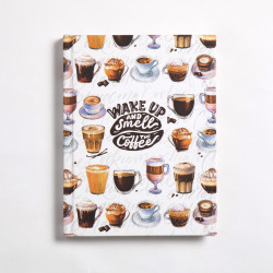 Coffee Notebook Hardcover A6 Size