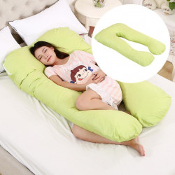 Sleeping Support Pillow For Pregnant Women Body, Lime