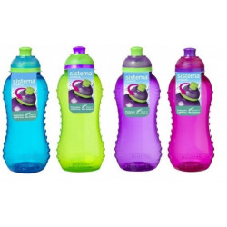 Sistema Twist 'n' Sip Bottle, 330 ml - Assorted Colours