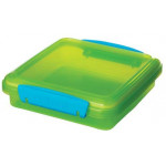 Sistema Lunch Sandwich Box, 450 ml, Assorted Colors