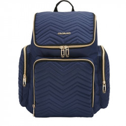Colorland The Onyx Diaper Bag, Navy Blue